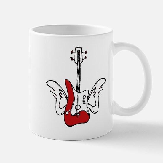 Winged Guitar Mug