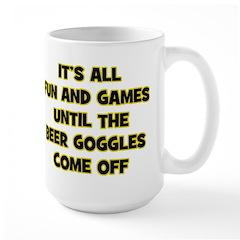 Beer Goggles Large Mug
