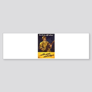 M1 Garand Bumper Sticker