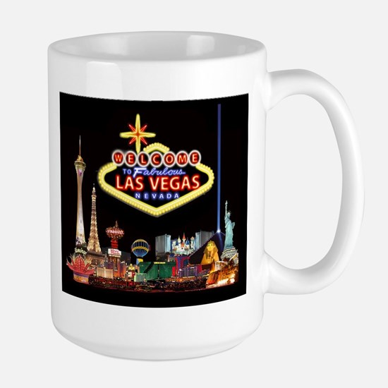 016mp  Vegas nite lites Mugs