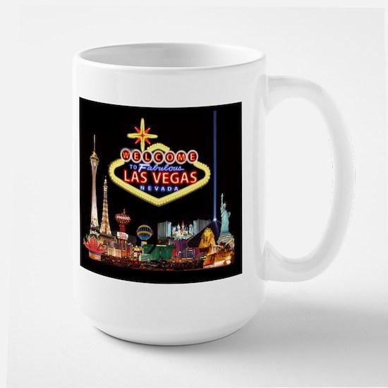 016mp  Vegas nite lites Mugs