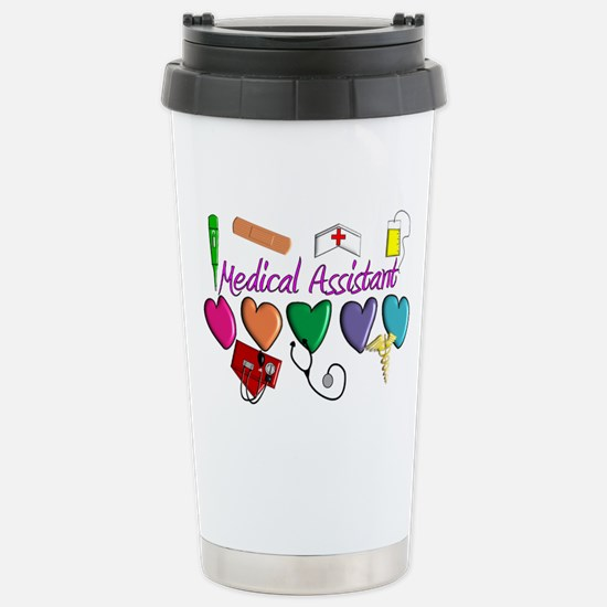 Medical Assistant Stainless Steel Travel Mug