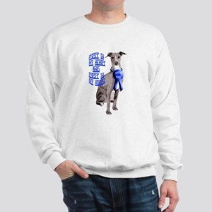 Italian Greyhond First Dog Sweatshirt