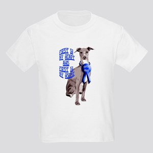 Italian Greyhond First Dog Kids Light T-Shirt