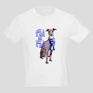 Italian Greyhond First Dog Kids Light T-Shirt