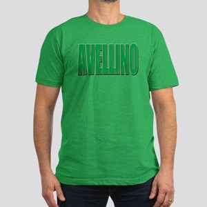 AVELLINO Men's Fitted T-Shirt (dark)