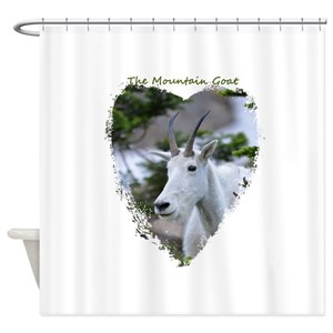 Mountain Goat Shower Curtains