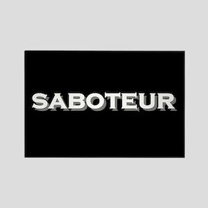 Saboteur Rectangle Magnet