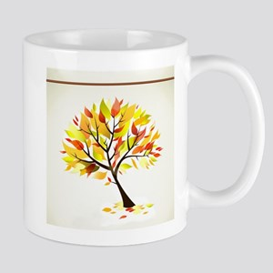 Autumn Tree BOTANICAL NATURE Mugs