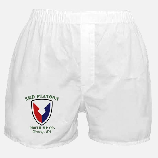 Funny Military police Boxer Shorts