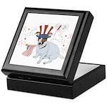 JRT with USA Flag Keepsake Box