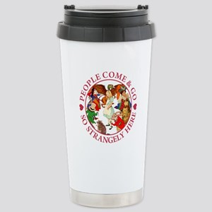 PEOPLE COME & GO Stainless Steel Travel Mug