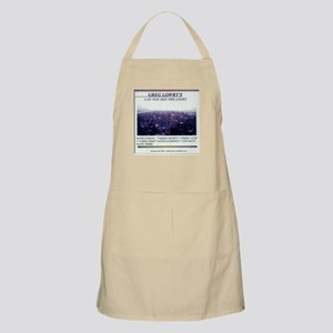 CAN YOU SEE THE LIGHT BBQ Apron