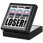 That Spin Was a Loser Keepsake Box