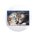 "Live Without 3.5"" Button (100 pack)"