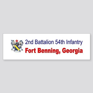 2nd Bn 54th Inf Reg Sticker (Bumper)