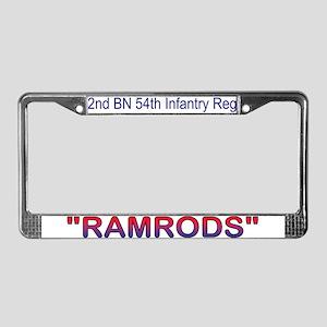 2nd Bn 54th Inf Reg License Plate Frame