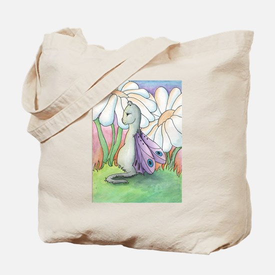 The Watcher - Fairy Cat Tote Bag