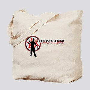 Bear Jew Tote Bag