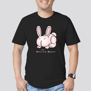 The Keister Bunny Men's Fitted T-Shirt (dark)