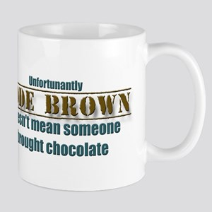 Code Brown Doesnt Mean Chocolate Mug