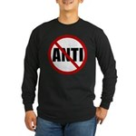 Anti-Anti Long Sleeve Dark T-Shirt