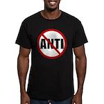 Anti-Anti Men's Fitted T-Shirt (dark)