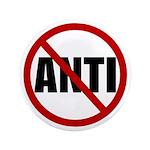 "Anti-Anti 3.5"" Button (100 pack)"