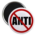 "Anti-Anti 2.25"" Magnet (100 pack)"