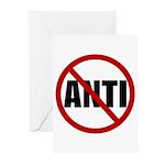 Anti-Anti Greeting Cards (Pk of 10)