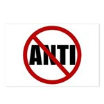 Anti-Anti Postcards (Package of 8)