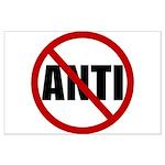 Anti-Anti Large Poster