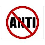 Anti-Anti Small Poster