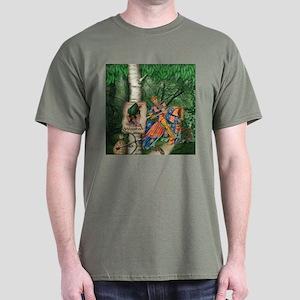 Cairn Terrier Robin Hood Dark T-Shirt