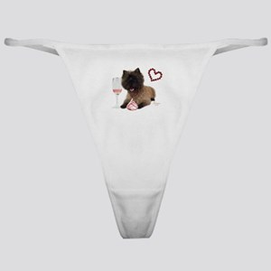 Valentine Cairn Terrier Classic Thong