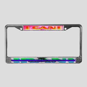 I CANxIRAN License Plate Frame