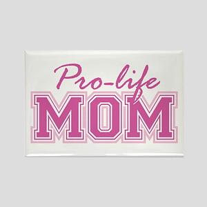 Pro-life Mom Rectangle Magnet