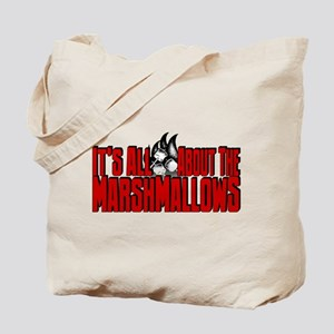 It's All About the Marshmallows Tote Bag