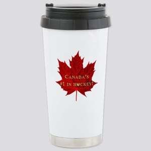 Canada's #1 in Hockey G Stainless Steel Travel Mug