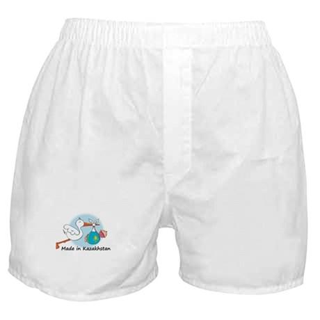 Stork Baby Kazakhstan Boxer Shorts