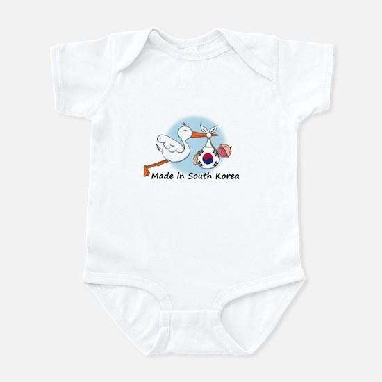Stork Baby South Korea Infant Bodysuit