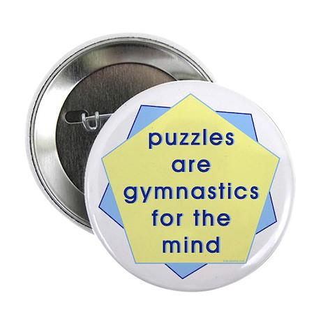 """Mind Gymnastics 2.25"""" Button (10 pack)"""