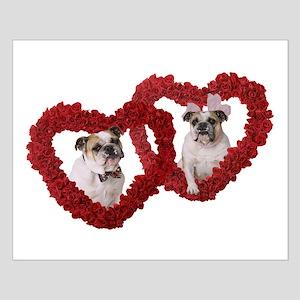 Bulldog Love Small Poster