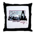 Big in Japan Throw Pillow