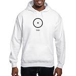 hope and despair Hooded Sweatshirt