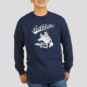 Methlete Long Sleeve Dark T-Shirt