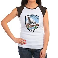 Environmental Enforcment Women's Cap Sleeve T-Shir