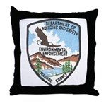 Environmental Enforcment Throw Pillow