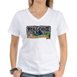 T&T TrollCon 2010 Women's V-Neck T-Shirt