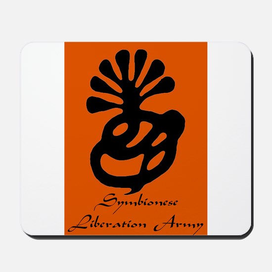 Symbionese Liberation Army Mousepad